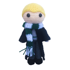 Free Draco Malfoy Amigurumi Pattern