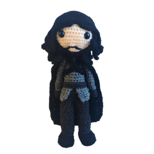 Free Game of Thrones Jon Snow Amigurumi Pattern