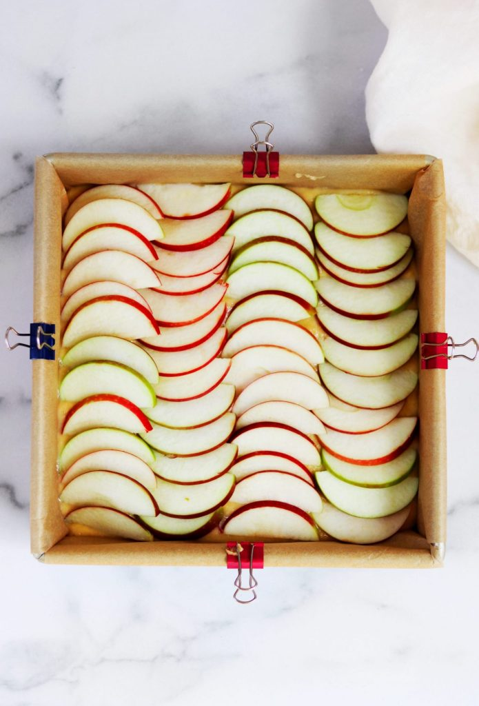 Layered apples - Daisybeet