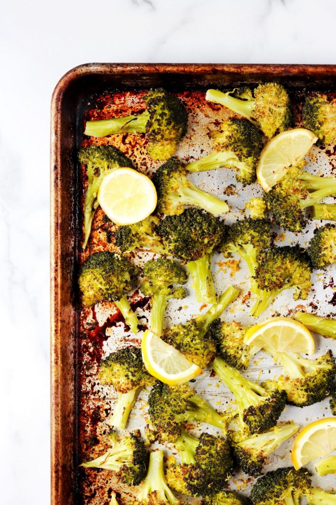 Lemon parmesan broccoli - Daisybeet