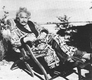 Even Einstein needed to fuck off sometimes