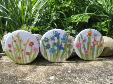 Meadow pocket mirrors - Daisy Florence Design