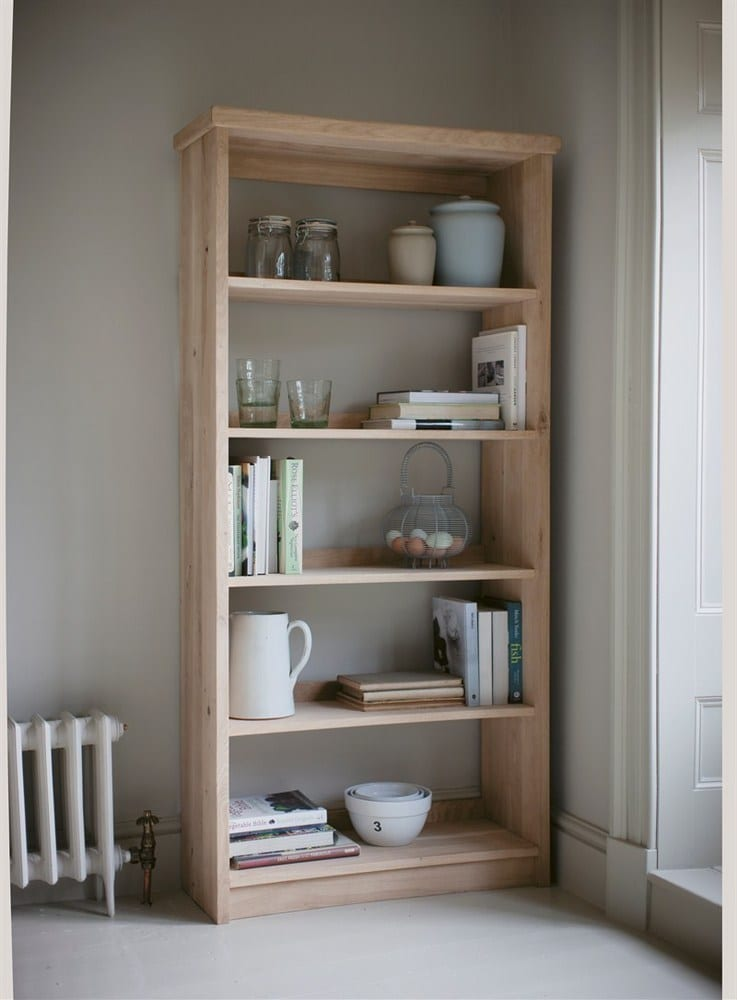 DAISY HARDCASTLE FABULOUS RAW OAK BOOK SHELVING UNIT