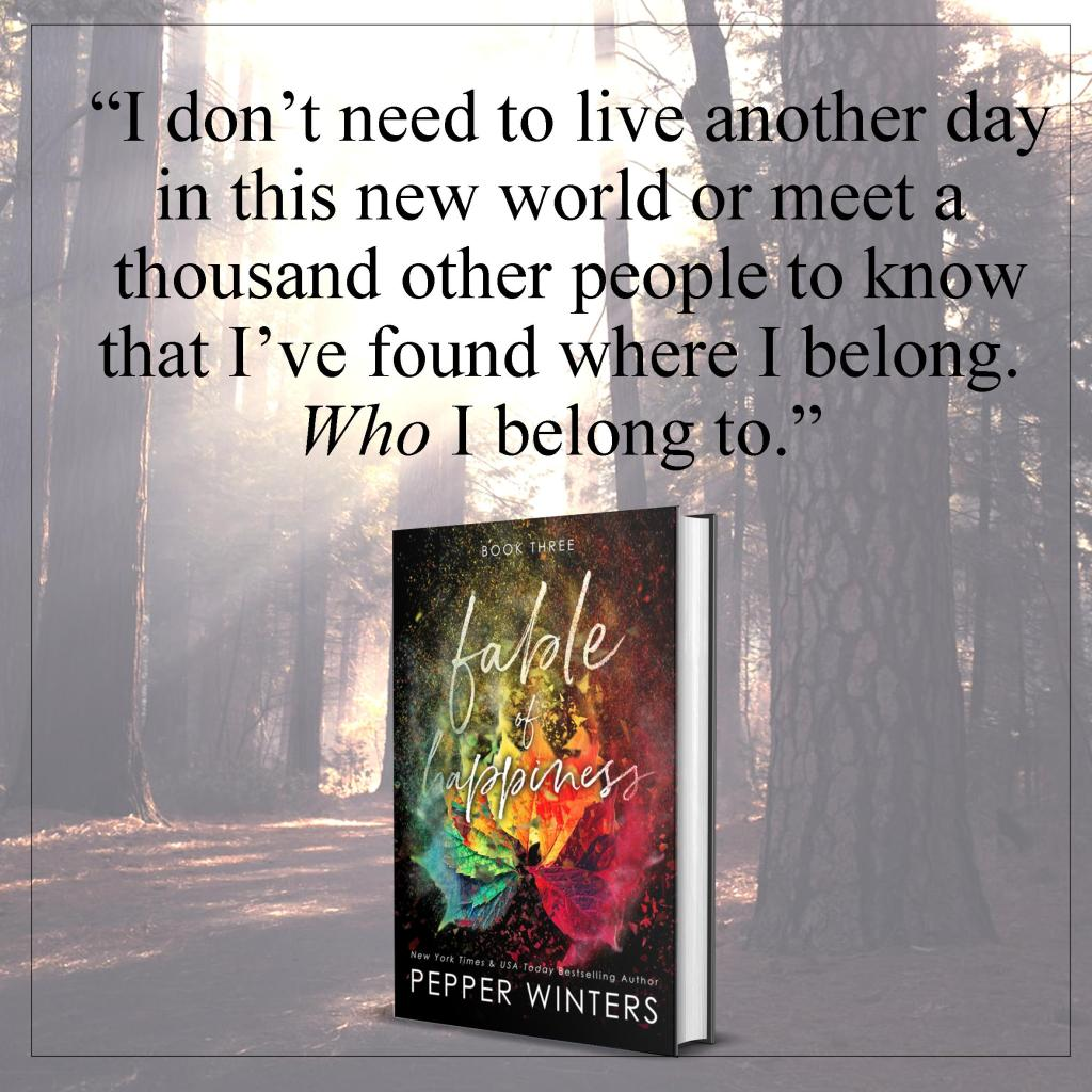 New Release from Pepper Winters