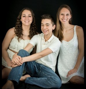 On The Left Is My Niece, Alyssa, In The Center Is My Nephew, Dylan And On The Right Is My Niece, Emily