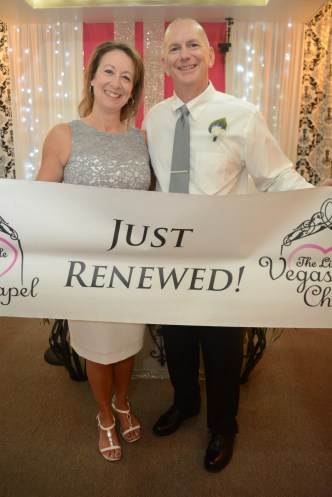 MY SISTER AND BROTHER-IN-LAW AFTER RENEWING THEIR VOWS FOR THEIR 25TH ANNIVERSARY.