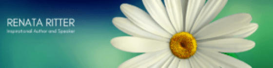 blog banner for renata ritter inc inspirational author and speaker