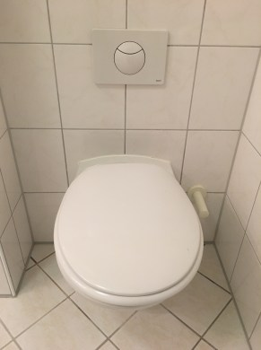 One of our toilets.