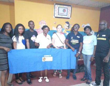 Donating five (5) camping beds for the LUTH pediatric oncology ward