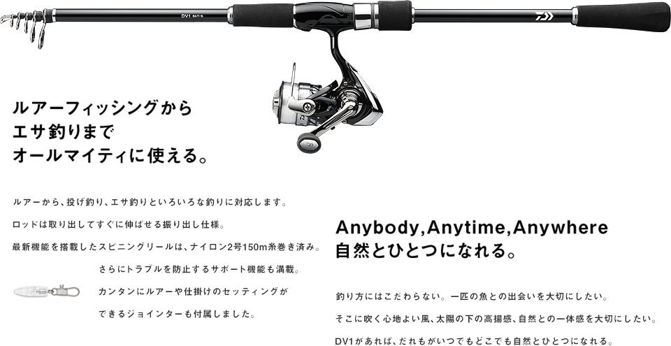 Free Style Fishing Width DV1