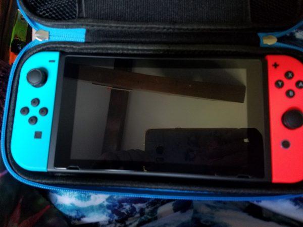 Nintendo Switch Screen Protector & Case