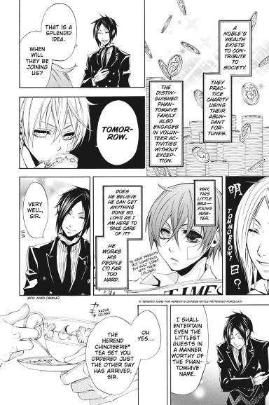 Black Butler Sample 1