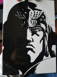 Fist of the North Star back cover