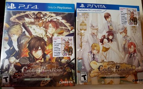Code: Realize Future Blessings / Bouquet of Rainbows Limited Edition Covers