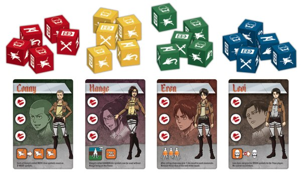 Attack on Titan: The Last Stand Heroes