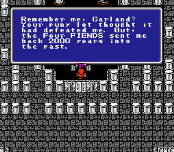 Final Fantasy NES Quote