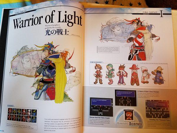 Final Fantasy Ultimania Archive 1 English Comparison 1