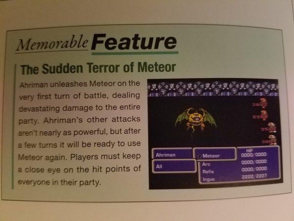 Final Fantasy Ultimania Archive English Sample 3