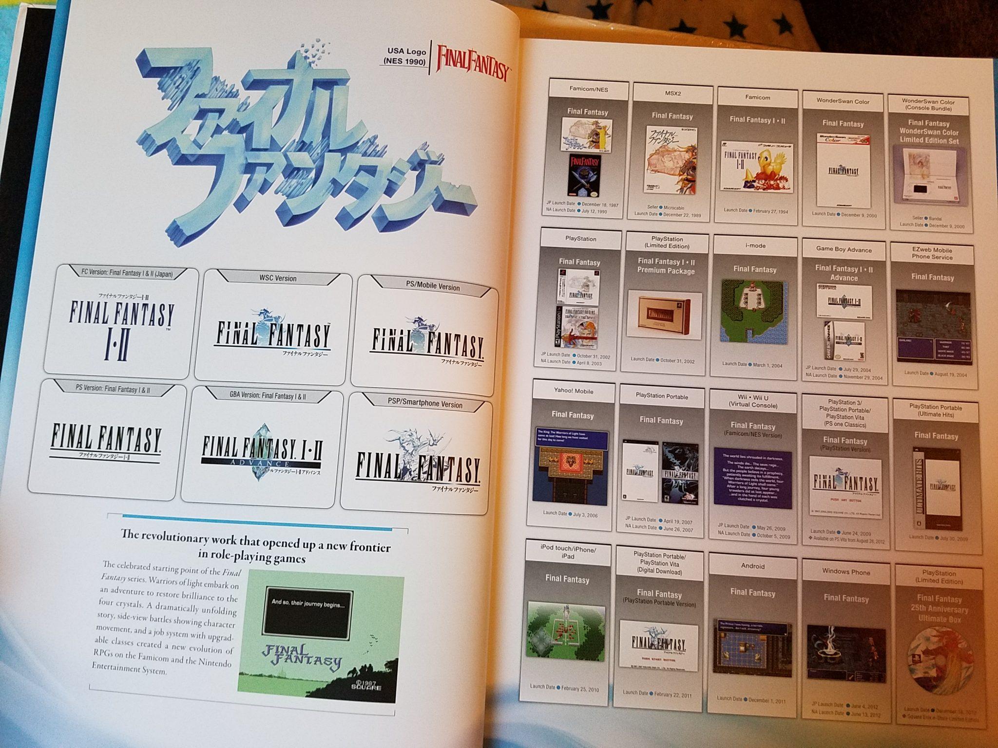Final Fantasy Ultimania Archive 1 Sample 3