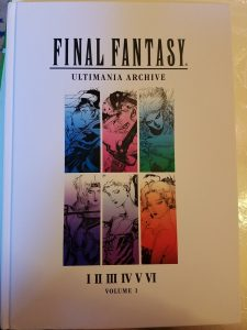 Final Fantasy Ultimania Archive 1 Front Cover