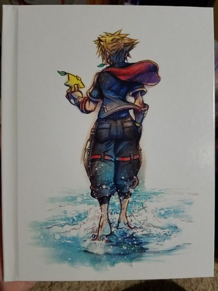 Kingdom Hearts III artbook front