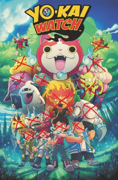 Yo-kai Watch (Comic) Characters