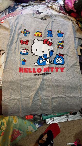 Hello Kitty Loot Crate 45th Anniversary shirt