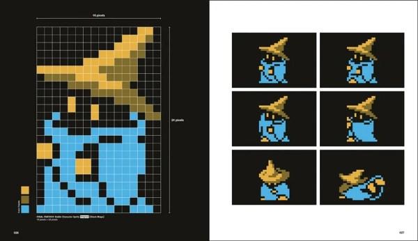 FF DOT: The Pixel Art of Final Fantasy Sample 1