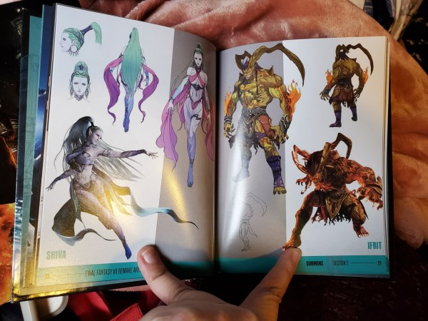 Final Fantasy VII Remake Premium Deluxe Edition artbook