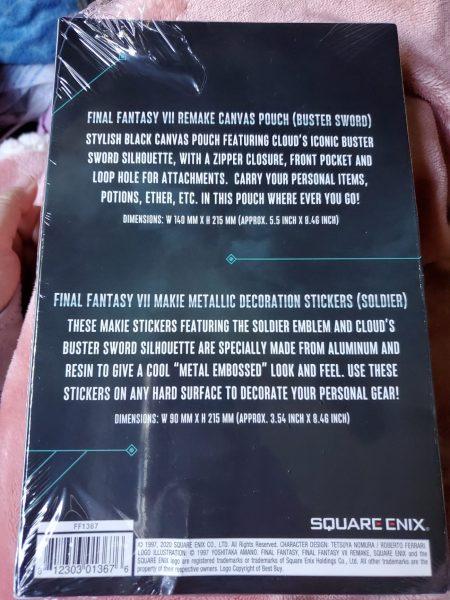 Final Fantasy VII Remake Premium Deluxe Edition Best Buy package