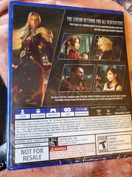 Final Fantasy VII Remake Premium Deluxe Edition game