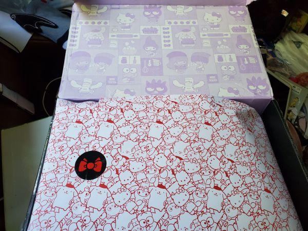 Hello Kitty Loot Crate Sweet Treats open box