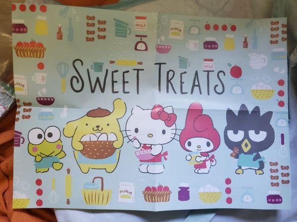 Hello Kitty Loot Crate Sweet Treats poster