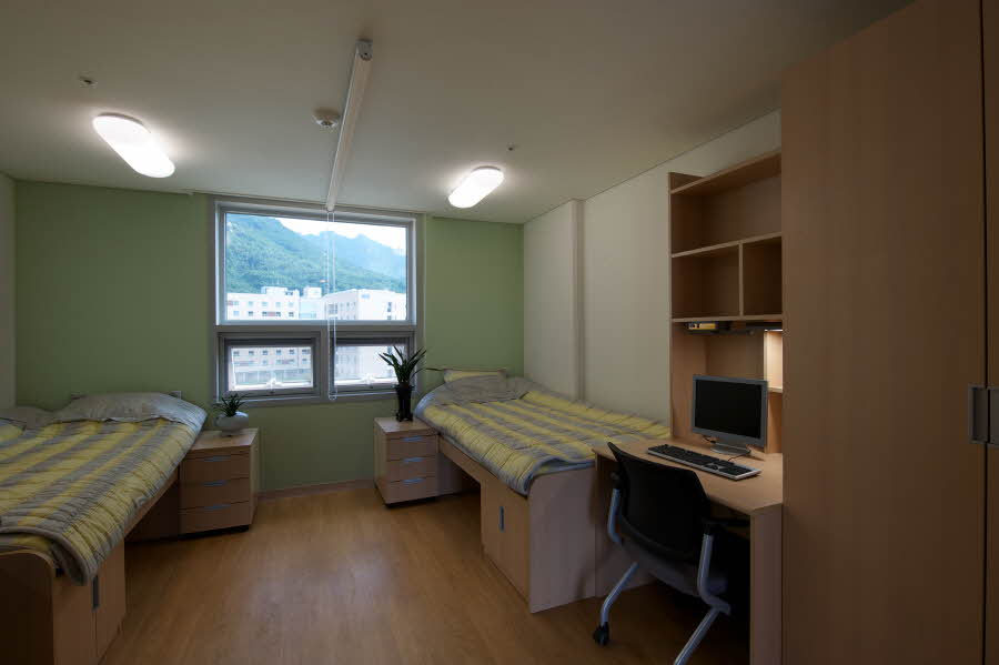 Seoul National University Dormitory Btl Jaud Architects