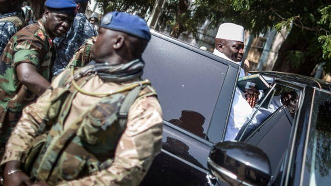 Dernière minute : Jammeh perd 80% de ses armes lourdes, 70% de ses effectifs militaires, sa chute est imminente