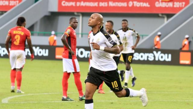 CAN 2017 : Le Ghana bat l'Ouganda sur le score de 1but à 0