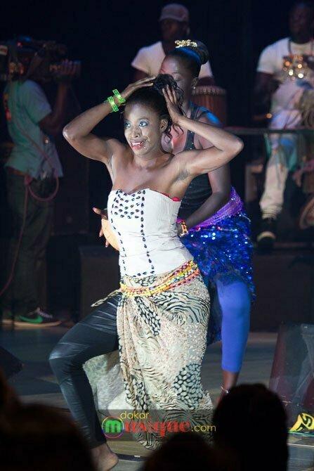 danseuse Waly Seck au grand théâtre dimanche 27 avril 2014