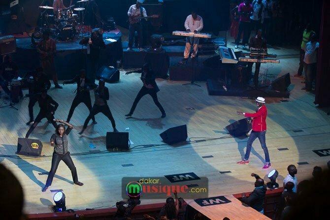 Soda Bousso avec Waly Seck au grand théâtre, concert du dimanche 27 avril 2014