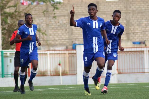 Idrissa Camara attaquant de Dakar Sacré-Coeur