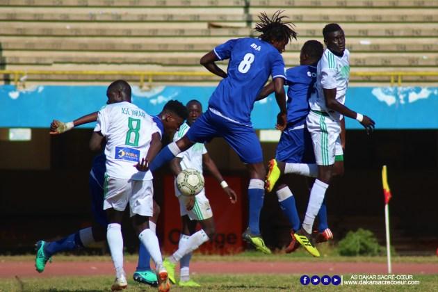 Dakar Sacré-Cœur vs ASC Jaraaf / Matar Ba - Pape Abdoulaye Ndiaye - Ibrahima Sonko Traoré