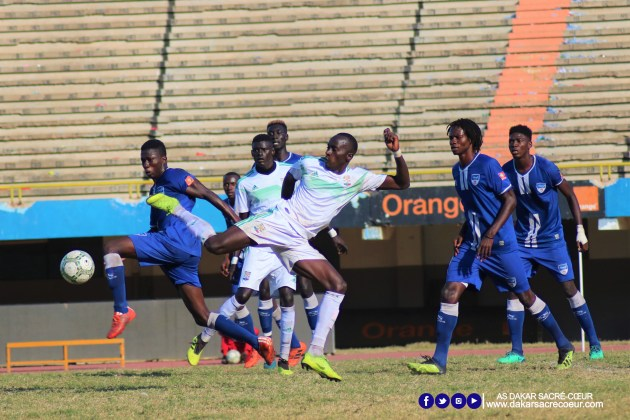 Dakar Sacré-Cœur vs ASC Jaraaf / Ibrahima Sonko Traoré - Matar Ba - Pape Abdoulaye Ndiaye