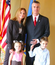 Marty Jackley and family
