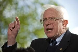 Senator Bernie Sanders, candidate for President