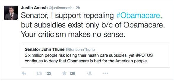 Rep. Justin Amash, tweet, 2015.06.08