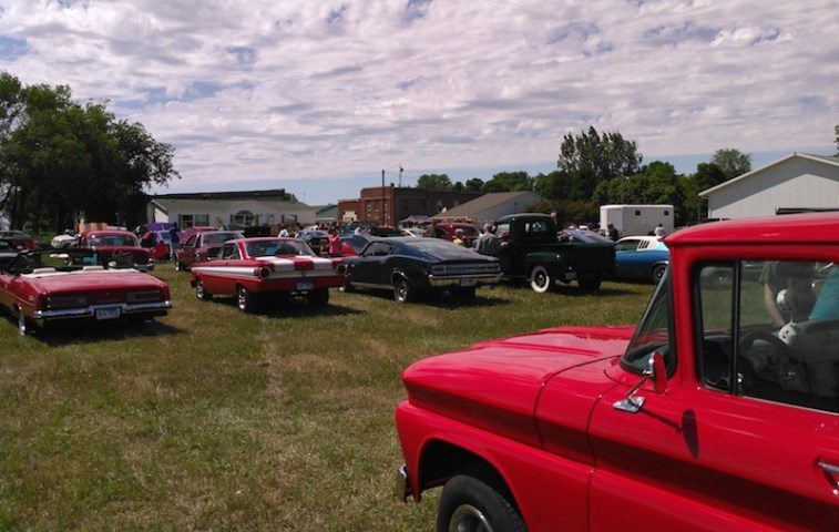 Plenty of sunshine for Stratford car show, June 14, 2015.