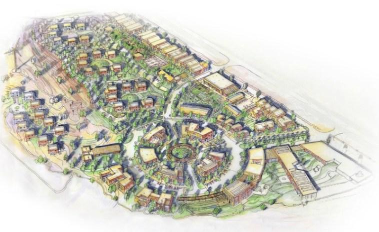 Thunder Valley regenerative community sketch