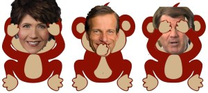 Noem Thune Rounds Monkeys