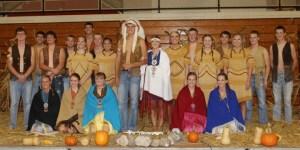 Sisseton High School homecoming coronation. Photo by Sarah Sunshine Manning.