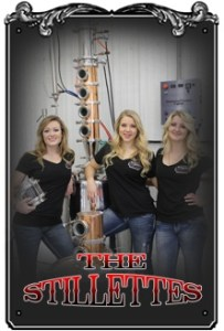 Good wholesome country girls promoting good wholesome South Dakota moonshine