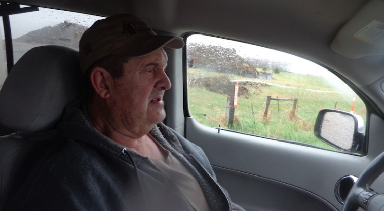 Galen Heckenlaible, landowner affected by TransCanada Keystone pipeline spill.